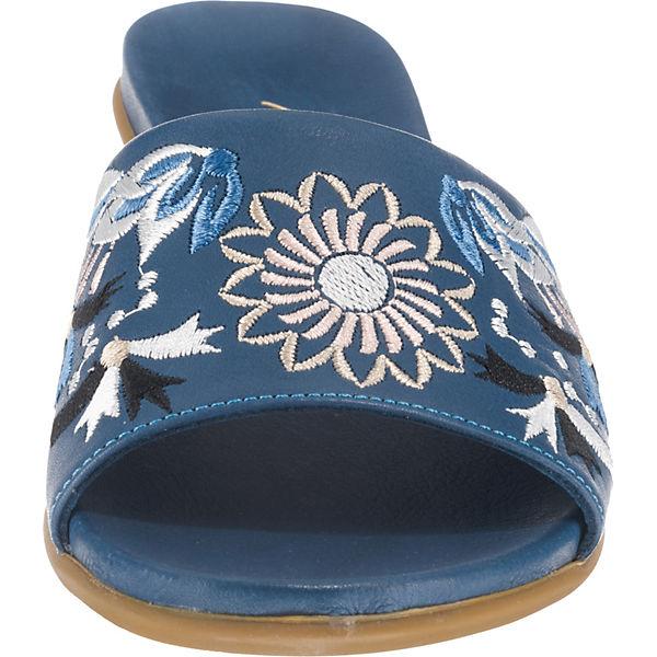 Andrea Conti, Gute Pantoletten, blau-kombi  Gute Conti, Qualität beliebte Schuhe d1ffaf