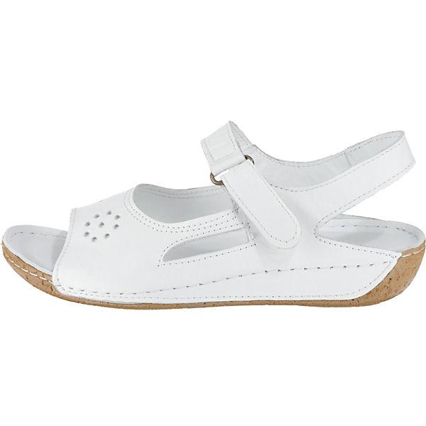 Andrea Conti, Sandaletten, Klassische Sandaletten, Conti, weiß   4f3d79
