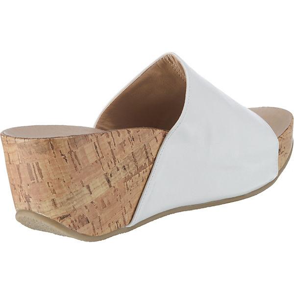 Andrea Conti, Gute Plateau-Pantoletten, weiß  Gute Conti, Qualität beliebte Schuhe b116de