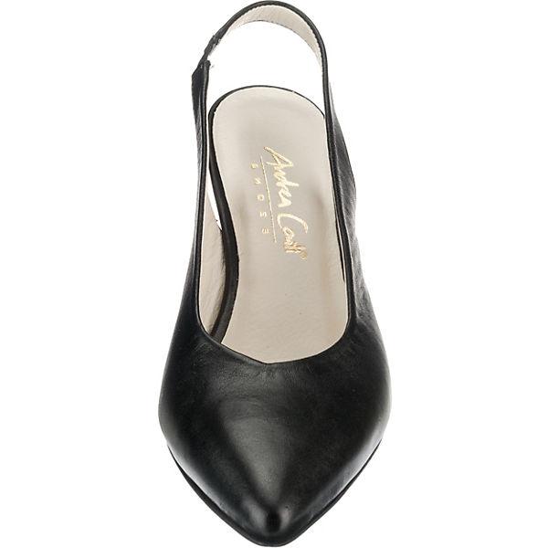 Andrea  Conti, Sling-Pumps, schwarz  Andrea Gute Qualität beliebte Schuhe f073a9