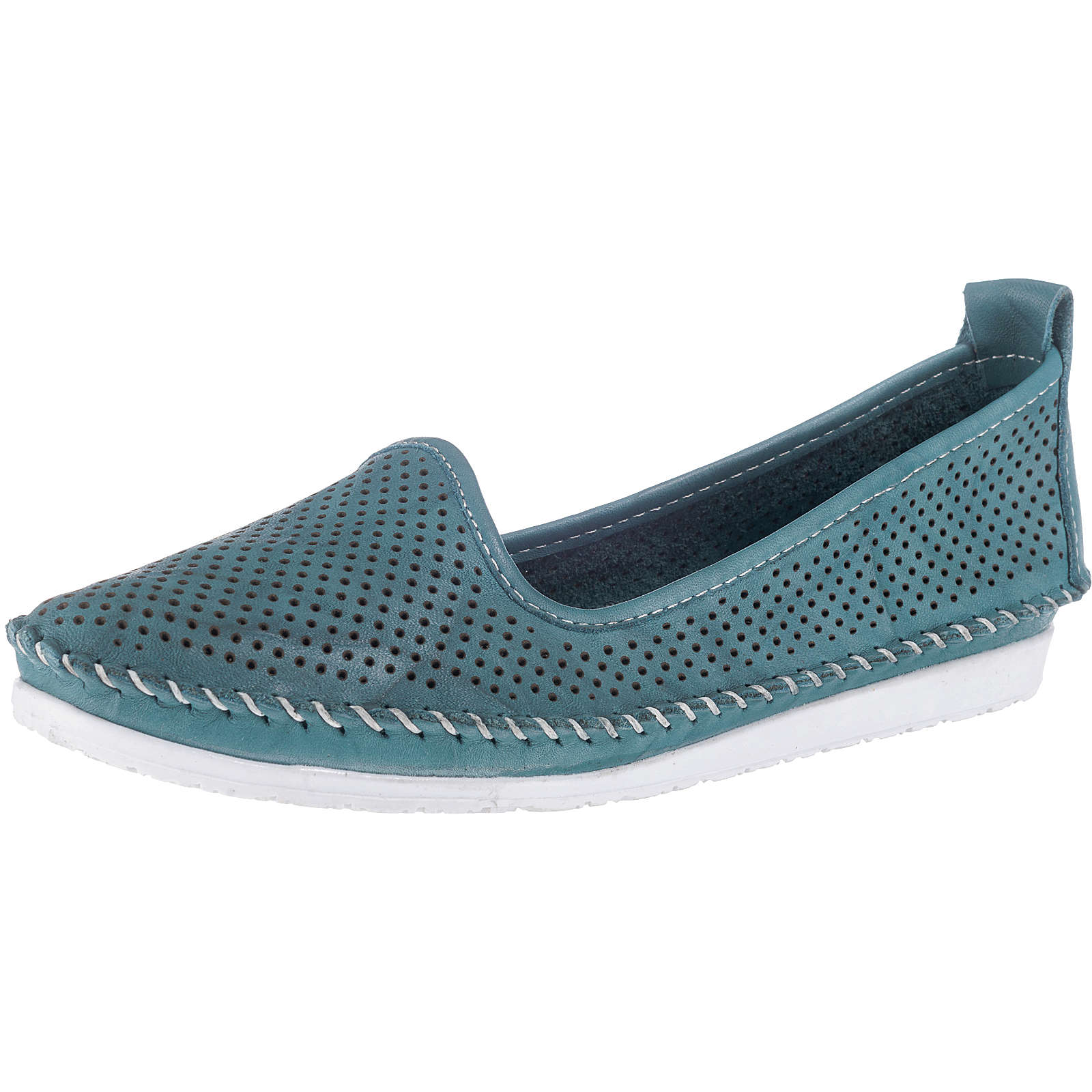 Andrea Conti Klassische Slipper blau Damen Gr. 42 jetztbilligerkaufen