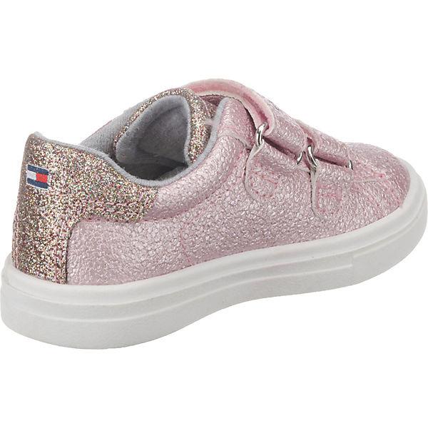 TOMMY HILFIGER Sneakers Low für Mädchen rosa
