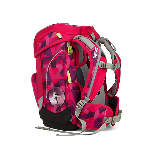 "ergobag Schulranzen-Set ""Cubo"", 5tlg. 40 cm pink"