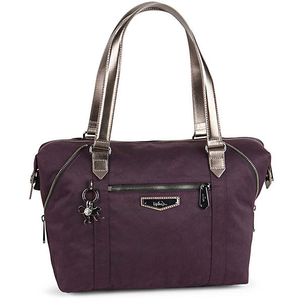 Kipling Handtasche Basic Plus Art lila