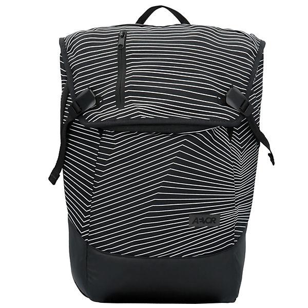 AEVOR Rucksack 48 cm Laptopfach schwarz