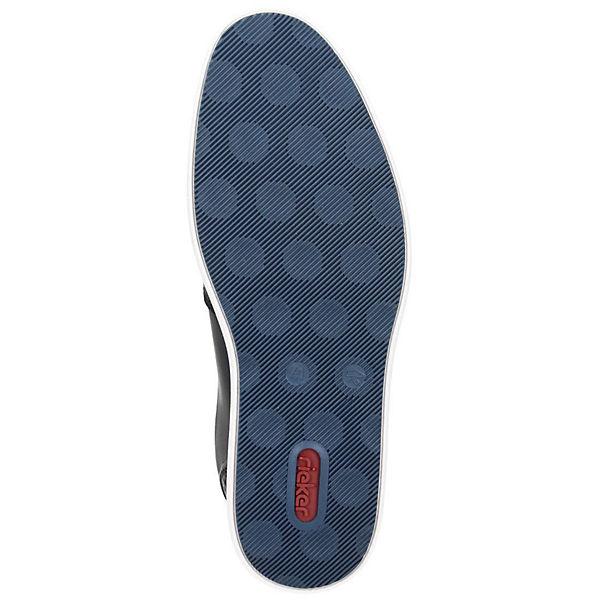 rieker, Klassische Slipper, blau   blau  d8ac6e
