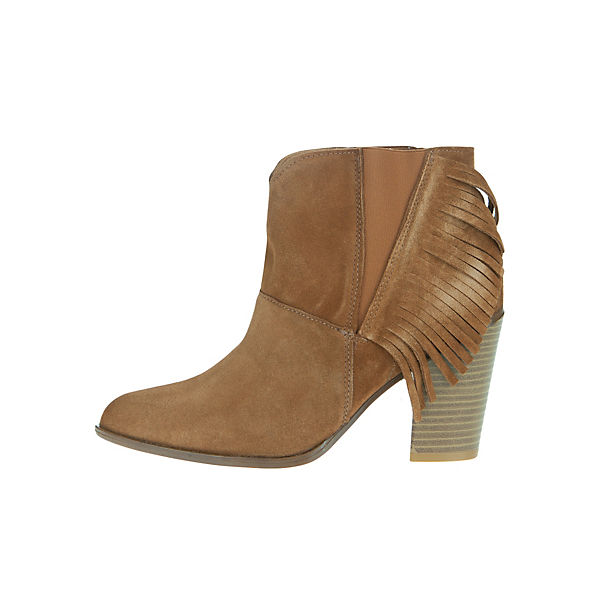 Apple of Eden Ankle Boots cognac