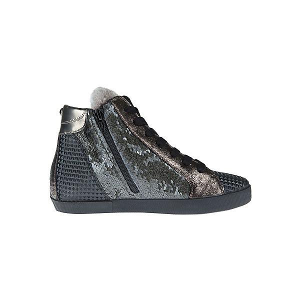 Donna Carolina Sneakers High grau-kombi