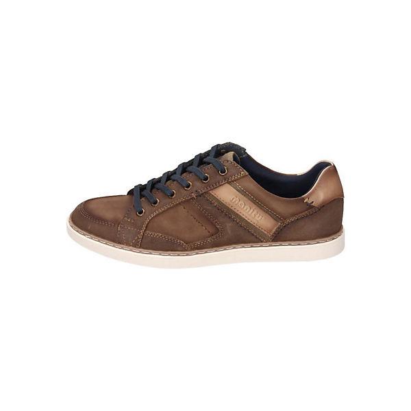 Manitu, Gute Sneakers Low, braun  Gute Manitu, Qualität beliebte Schuhe ee82d5