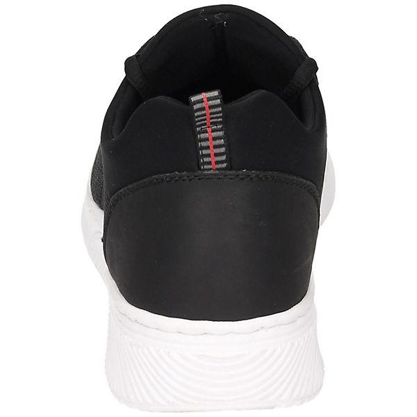 Low schwarz Sneakers Low rieker rieker Sneakers wpPXvaxI8q