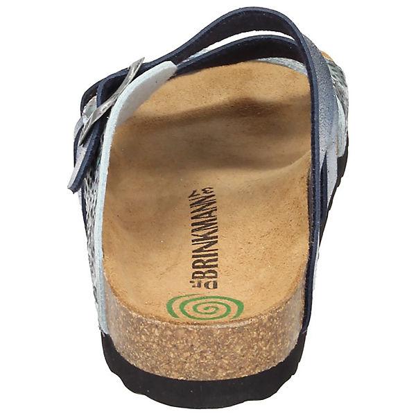 Dr. Gute Brinkmann, Pantoletten, blau  Gute Dr. Qualität beliebte Schuhe 39e165