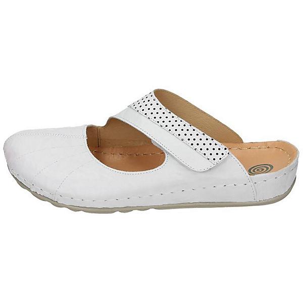 Dr. Brinkmann Pantoletten weiß  Gute Qualität beliebte Schuhe