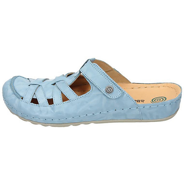 Dr. Brinkmann, Pantoletten, hellblau  Gute Qualität beliebte Schuhe