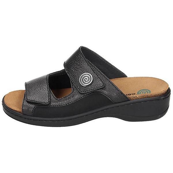 Dr. Brinkmann, Pantoletten, schwarz  Gute Qualität beliebte Schuhe