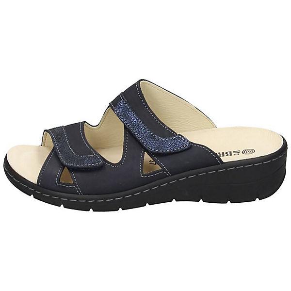 Dr. Brinkmann, Pantoletten, blau  Gute Qualität beliebte Schuhe