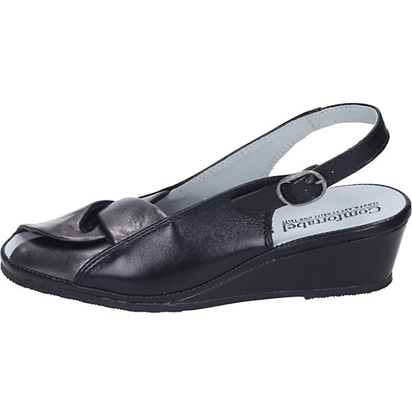 Comfortabel,  Keilsandaletten, schwarz  Comfortabel, Gute Qualität beliebte Schuhe 4d38b5