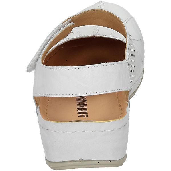 Dr.  Brinkmann, Offene Halbschuhe, weiß  Dr. Gute Qualität beliebte Schuhe dddf6c