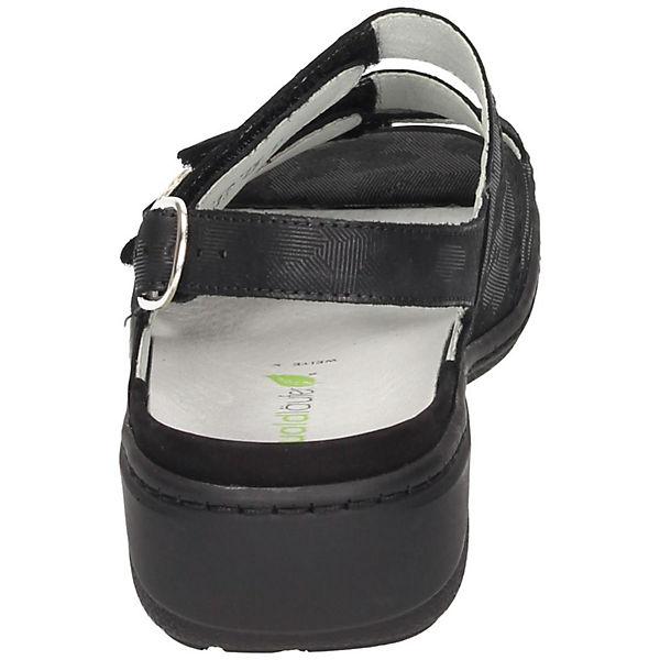 Klassische Klassische Sandalen Sandalen schwarz schwarz WALDLÄUFER schwarz Sandalen Klassische Klassische WALDLÄUFER WALDLÄUFER WALDLÄUFER wqdC0w