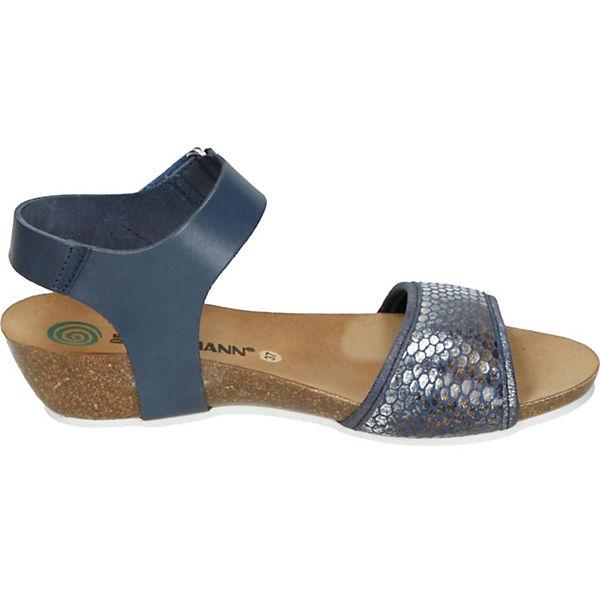 Dr. Brinkmann, Gute Keilsandaletten, blau  Gute Brinkmann, Qualität beliebte Schuhe a1dd3d