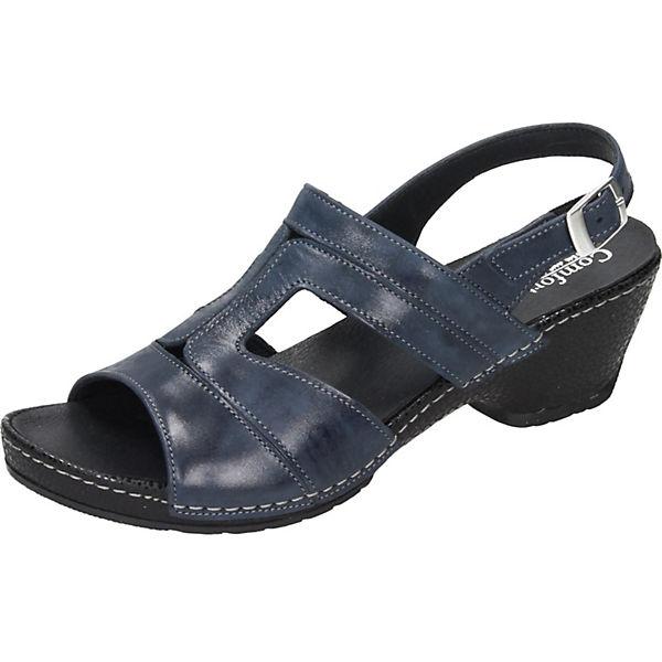 Comfortabel Klassische Sandaletten blau