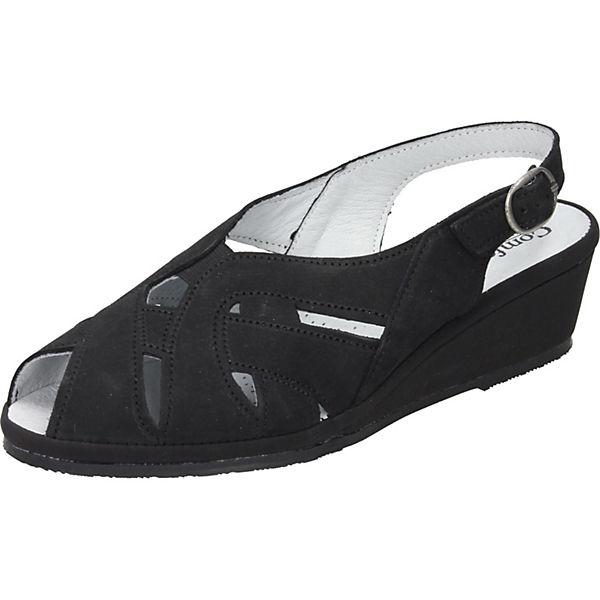 Comfortabel Keilsandaletten Keilsandaletten schwarz schwarz Comfortabel Comfortabel rrvI6w5q