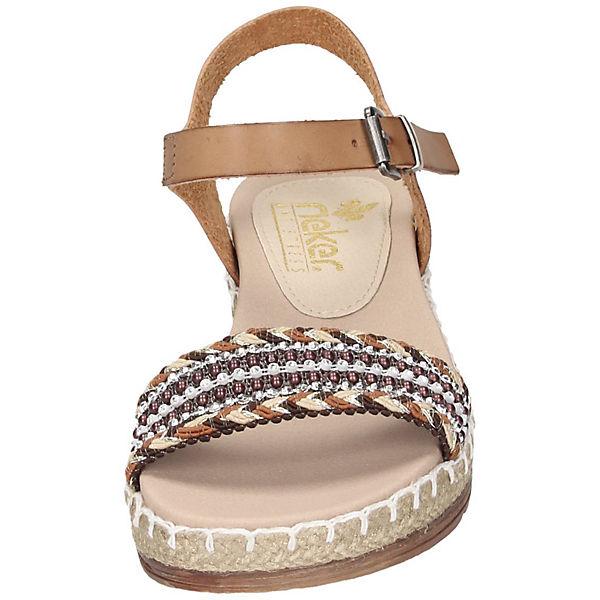 Klassische braun Sandalen Klassische Klassische braun rieker Sandalen rieker rieker Sandalen vTCCqBxw