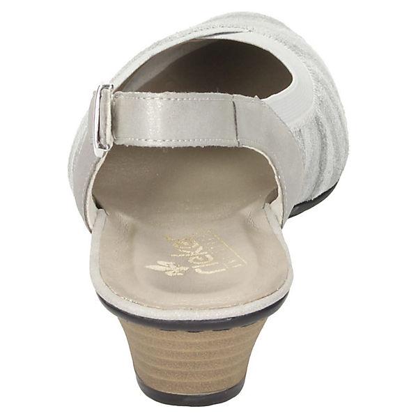 rieker, Sling-Pumps, grau  Gute Schuhe Qualität beliebte Schuhe Gute 38f7ad