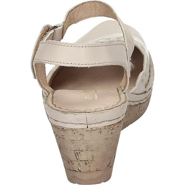 Manitu, Gute KeilSandaleetten, beige  Gute Manitu, Qualität beliebte Schuhe df81e7