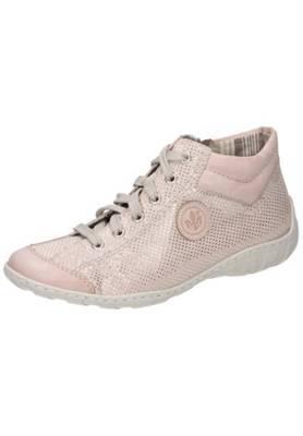 rieker, Damen Stiefelette Schnürschuhe, rosa | mirapodo bR5El