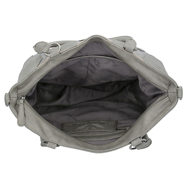 Fritzi aus Preußen Handtasche Samira 32 cm grau
