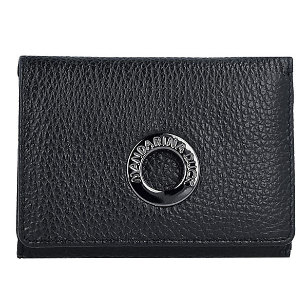 MANDARINA DUCK Geldbörse Mellow Clip 10,5 cm schwarz