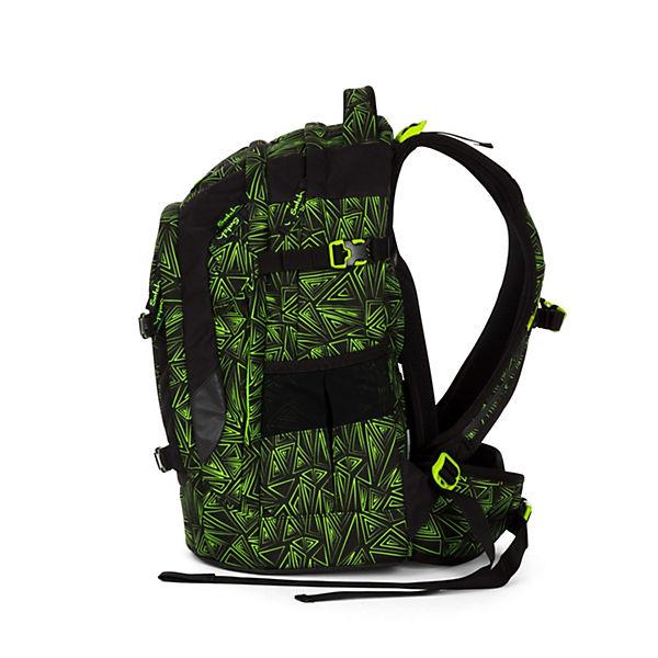 Satch Schulrucksack pack 48 cm grün