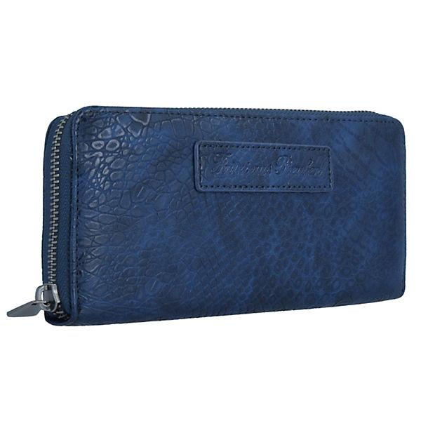 Fritzi aus Preußen Geldbörse Nicole 19,5 cm blau