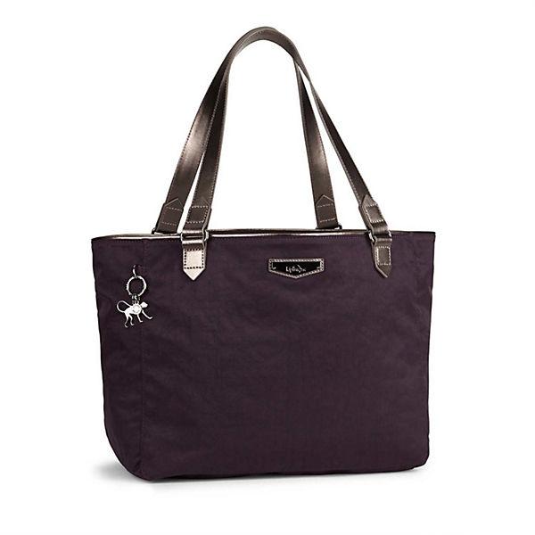 Kipling Handtasche City lila