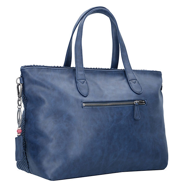 Fritzi aus Preußen Shopper Andrina 39 cm blau