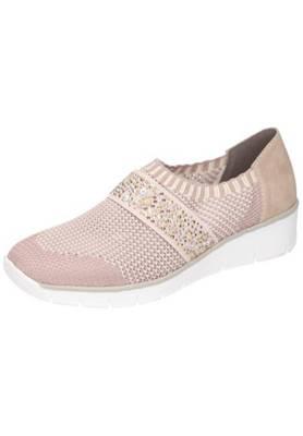 rieker, Damen Slipper Klassische Slipper, rosa | mirapodo hgyw5
