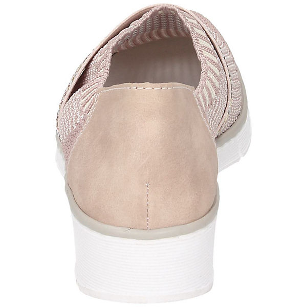 rieker, Sportliche Slipper, rosa     de4404