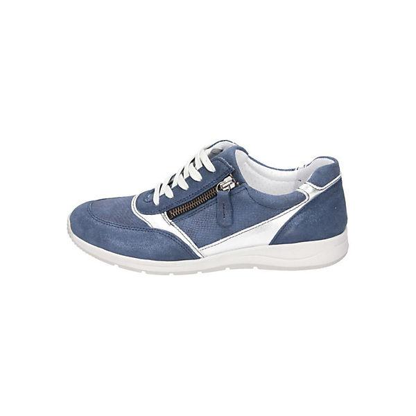 Comfortabel Sneakers Low blau  Gute Qualität beliebte Schuhe