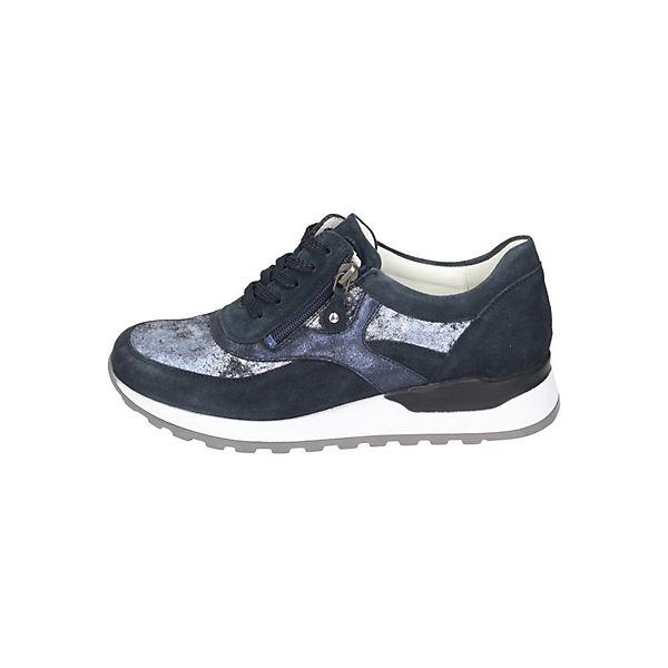 WALDLÄUFER, Sneakers Low, blau  Gute Qualität beliebte Schuhe