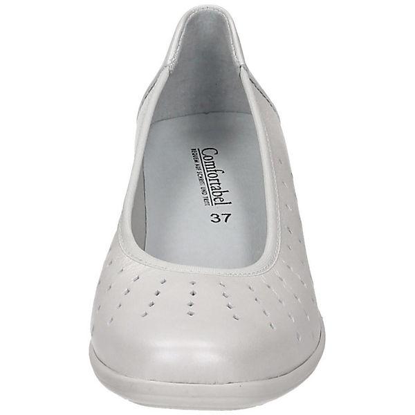 Comfortabel, Komfort-Ballerinas,  weiß  Komfort-Ballerinas, Gute Qualität beliebte Schuhe 587dfb