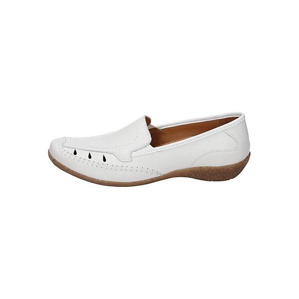 Comfortabel, Klassische Slipper, weiß   weiß  84c298