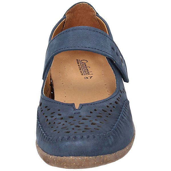 Comfortabel, Schnallenballerinas, blau  Gute Schuhe Qualität beliebte Schuhe Gute 77bf91