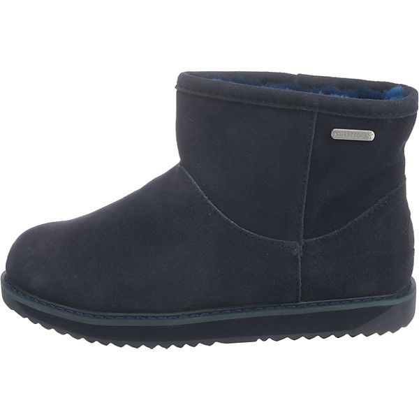 EMU Australia Paterson Qualität Classic Mini Winterstiefeletten dunkelblau  Gute Qualität Paterson beliebte Schuhe 26001a
