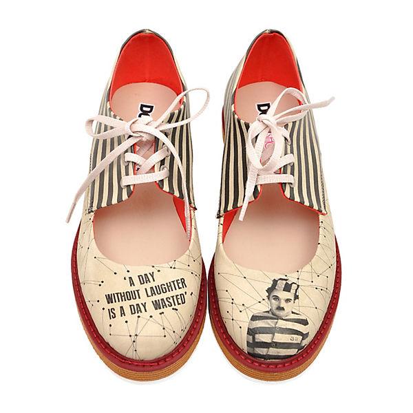 Dogo c Pency Chaplin mehrfarbig Shoes Schnürschuhe xq0HfU