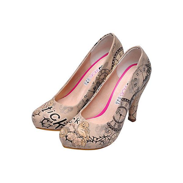 Dogo Shoes, Klassische Pumps High-Heels Gute tick tock, mehrfarbig  Gute High-Heels Qualität beliebte Schuhe 484e5d