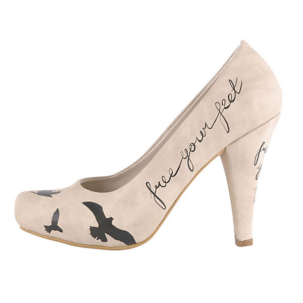 Klassische Pumps High-Heels Free Your Feet