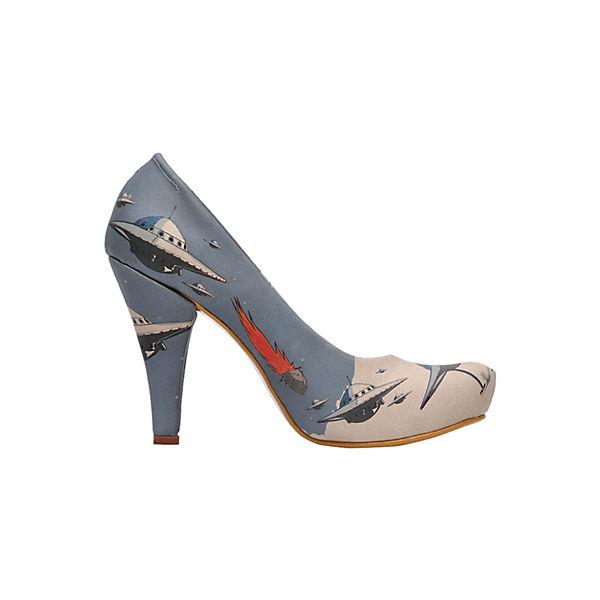 Dogo Shoes Klassische Pumps High-Heels ufo attack 2 mehrfarbig