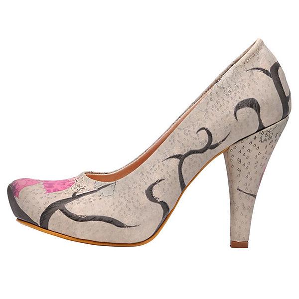 Dogo Shoes Klassische Pumps High-Heels love in rain mehrfarbig