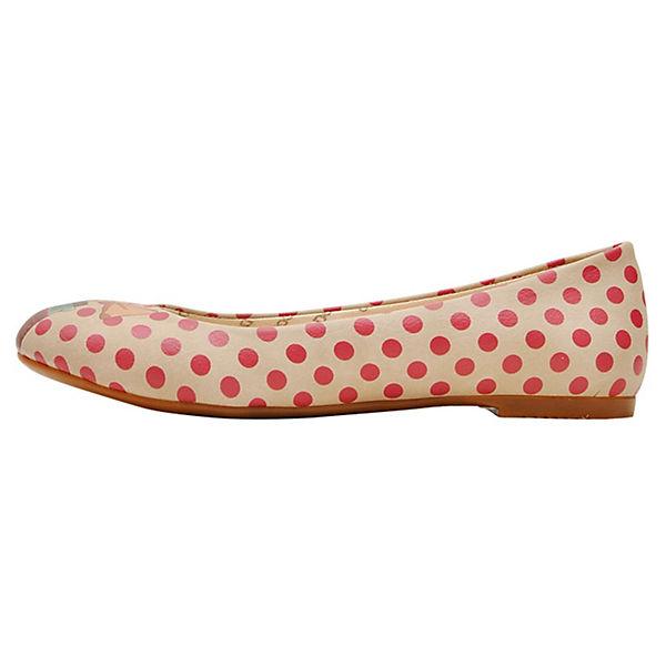 Dogo Shoes Klassische Ballerinas Love in the bottle mehrfarbig