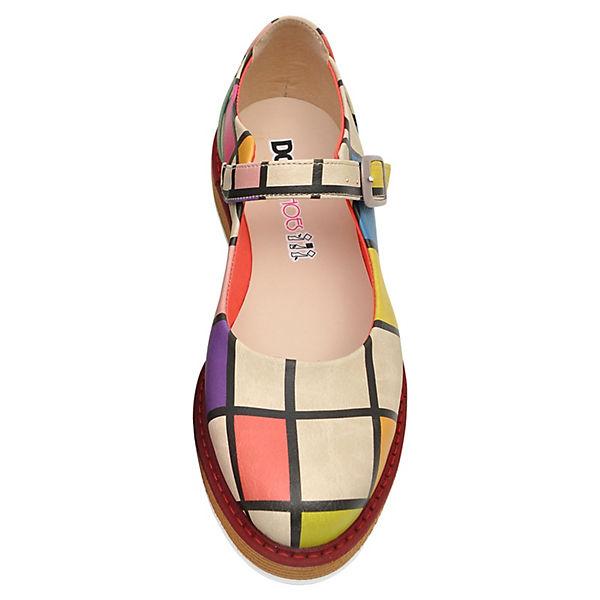Dogo Shoes, Schnallenballerinas  Lucy To DOGO, mehrfarbig  Schnallenballerinas  accb96